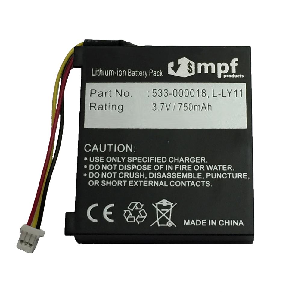 750mAh Battery 4 Logitech MX Revolution Laser Mouse L-LY11 F12440097 533-000018 - $6.95