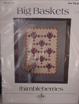 "Pattern ""Big Baskets"" Quilt by Thimbleberries - $5.99"