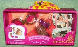 Our Generation Trekking Tails Set Outfit For Og Pups New - $15.88