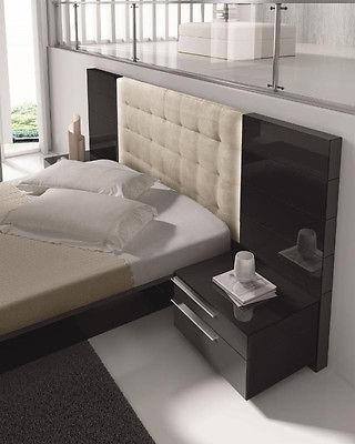 J&M Chic Modern Santana Premium King Size 4pc Bedroom Set