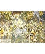 Vintage Reproduction Print Fairy Garden 11x17 Midsummer Nights Dream 1907 - $27.79