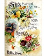 Vintage Seed Co. Reproduction Print 11 x 17 Cole's Seeds - $27.79