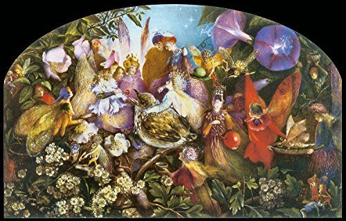 Primary image for Vintage Reproduction Print Fairy Garden 11x17 The Fledgling