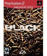 Black - PlayStation 2 [PlayStation2] - $3.55