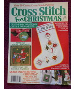 Cross Stitch For Christmas with 70 Patterns 100 pages - $9.99