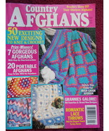 Country Afghan Designs anf Instructions 100 pages Book - $9.99