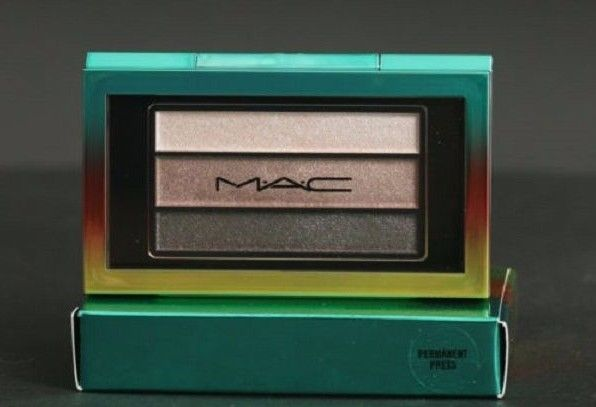MAC `Wash & Dry` Veluxe Pearlfusion Eye Shadow Trio In Permanent Press NIB Ltd.