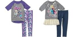 Disney Frozen  Girls 2pc Outfit Legging Sizes 4/5 NWT - $24.99