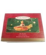 Hallmark Keepsake Christmas Ornament ; 2000 The Beatles Yellow Submarine - $60.39