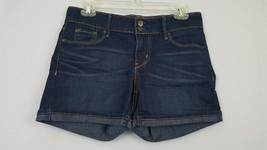 Levi's Denizen Women's Size 2 Shorts Denim Jean Short Dark Blue Wash - $8.79