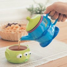 Disney Alien Tea For One Cup & Teapot Set with Tea Leaves Houseware Kitc... - $62.37
