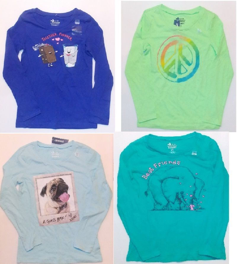 Primary image for Old Navy Girls Long Sleeve Shirts 4 Choices Sizes Sm 6-7, Med 8 and Lg 10-12 NWT