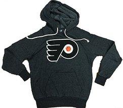 Majestic Threads Philadelphia Flyers Tri Blend Pullover Hoodie (Medium) - $81.34