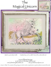 The Magical Unicorn JE080 cross stitch chart Joan Elliott Designs - $14.00