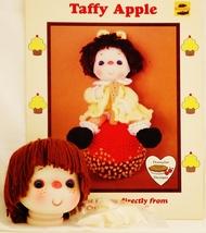 Dumplin Designs Taffy Apple Crochet Pattern Leaflet UP 2 1985 and Yarn H... - $18.50