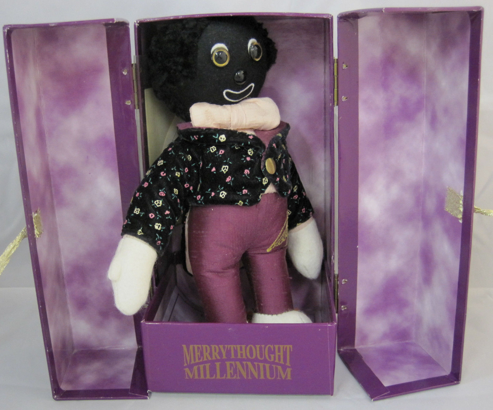 Primary image for Merrythought Millennium Golly Golliwogg Limited Edition With Tags & Box