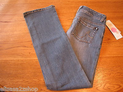 Primary image for Roxy girls jeans 483901 QL003 BSL Fairbanks Bootcut pants 12 youth NWT 42.00 *^