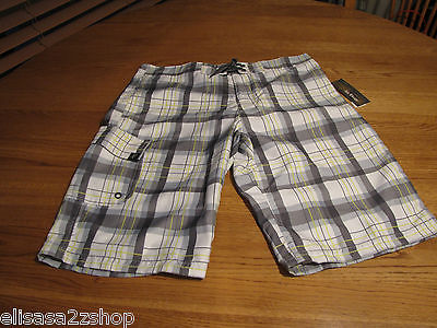 Primary image for Boy's Youth Epic Threads NEW board shorts small S  NWT surf casual bright white