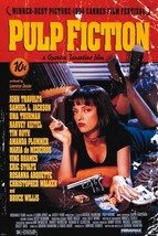 PULP FICTION - MOVIE POSTER   PRINT  UMA ON BED   SIZE: 24x36  - $24.00