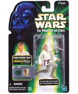 Star Wars Power of the Force Commtech Luke Skywalker with T-16 Skyhopper... - $9.99