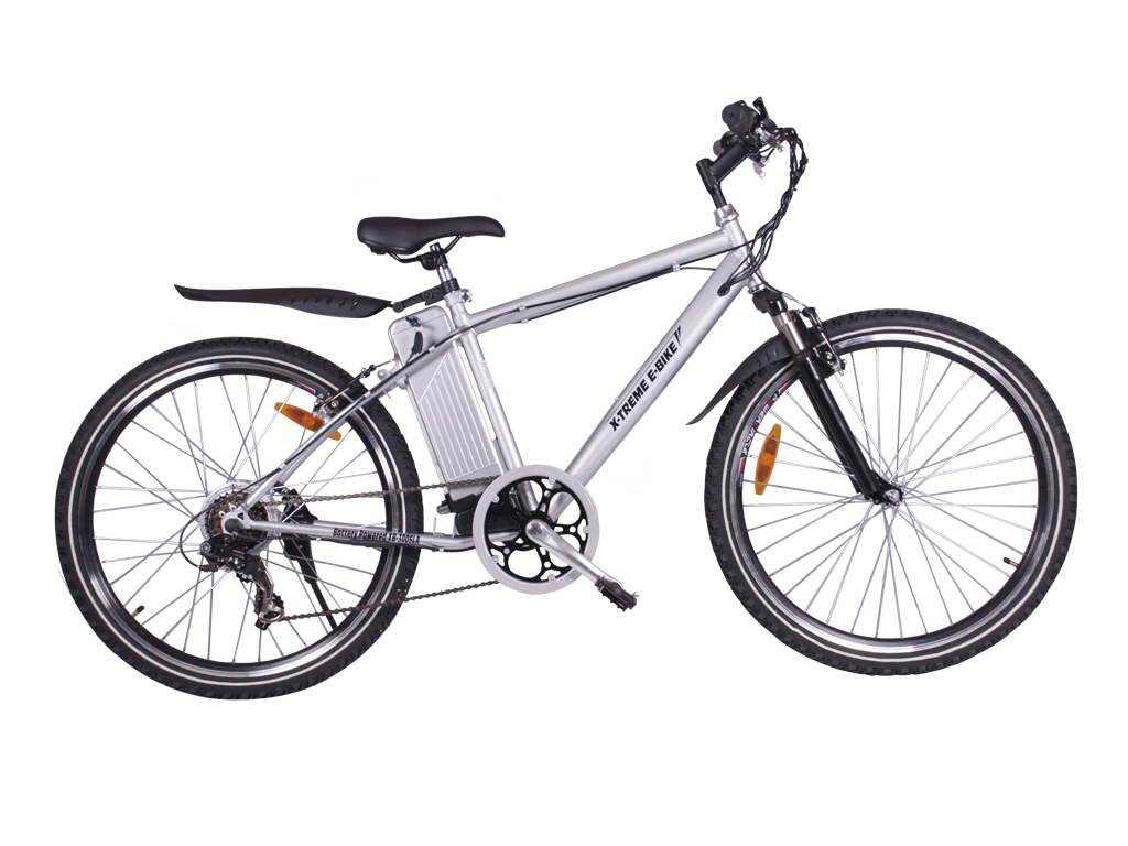 Electric bicycle xb 300 sla extreme silver right side 1024