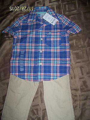 Primary image for Carters Toddler Boys Outfit size: 18M - NWT