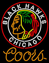 Coors Light Commemorative 1938 Chicago Blackhawks Neon Sign - $799.00