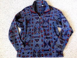 Patagonia Vintage Synchilla Men's L/XL Aztec Tribal Pattern Fleece Jacke... - $125.00