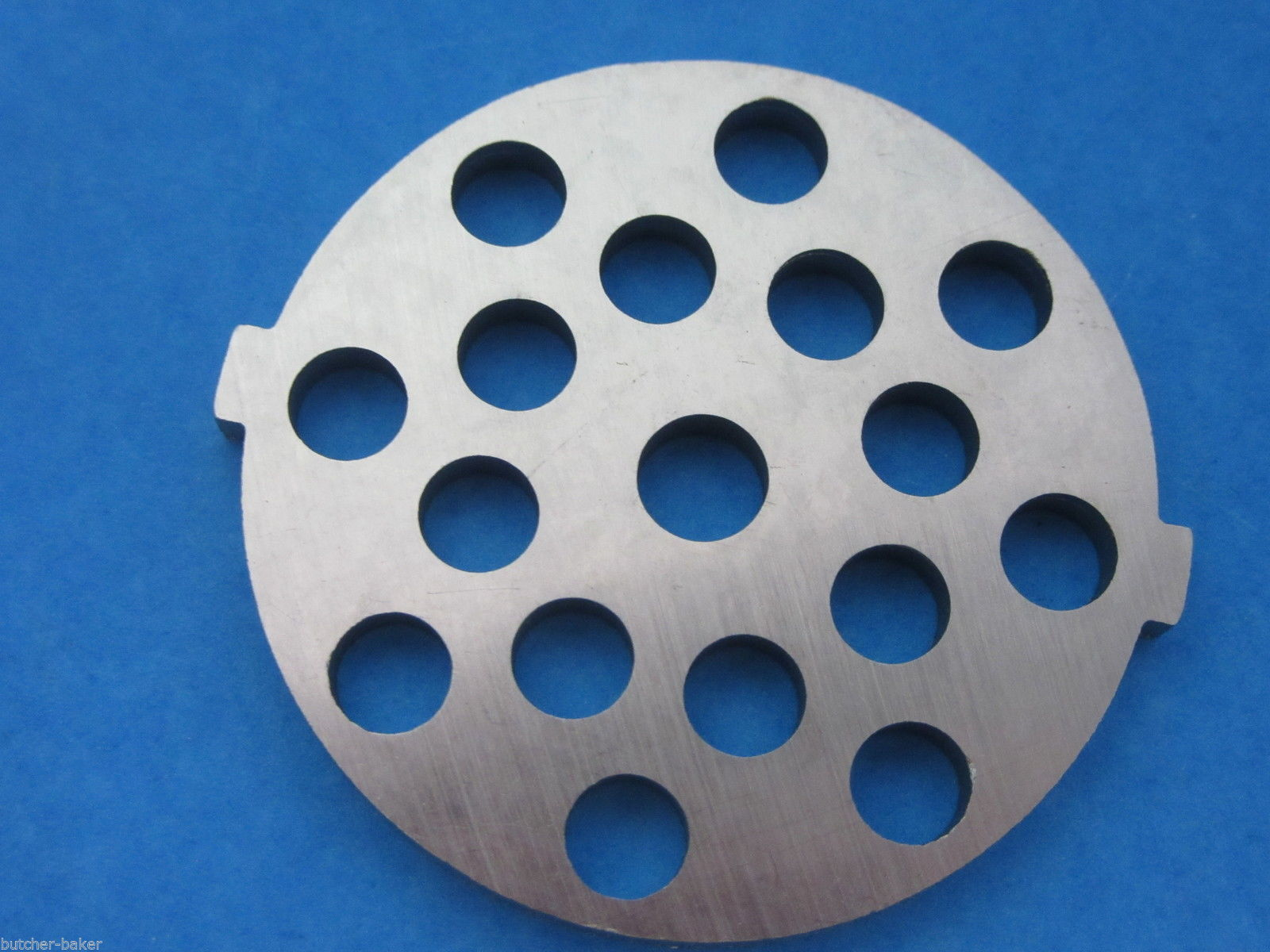 "Primary image for 5/16"" Large hamburger Meat Grinder plate disc for electric Rival Sunmile Deni"