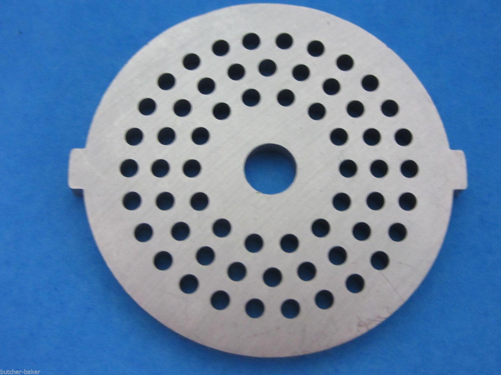 "Primary image for 1/8"" Fine Grind Meat Grinder plate disc die for electric Waring Pro & Oster etc"