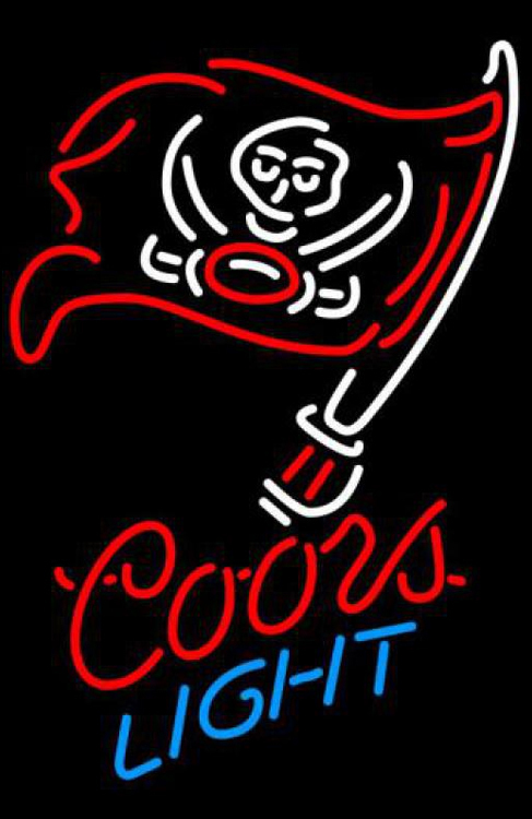 Primary image for Coors Light NFL Tampa Bay Buccaneers Neon Sign
