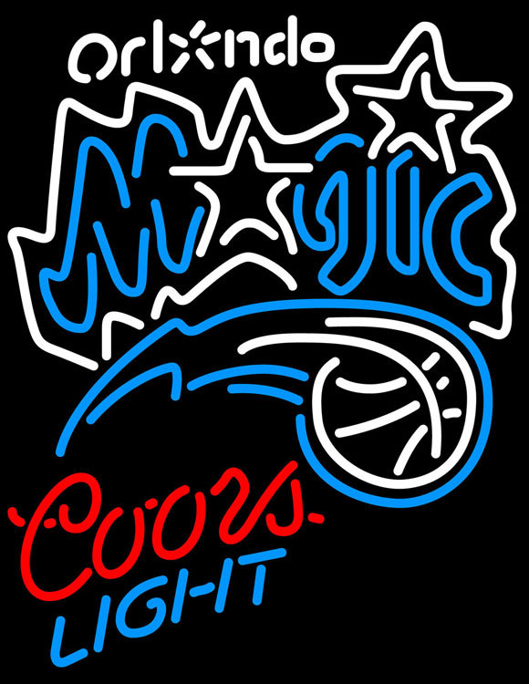 Primary image for Coors Light NBA Orlando Magic Neon Sign