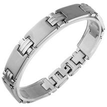 Stainless Steel Bracelet Length: 8 IN (200 mm) x Width: 1/2 IN (12 mm) - $22.72