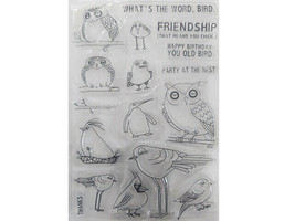 Birds and Friendship Clear Stamp Set