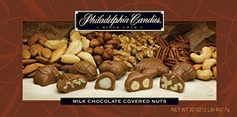 Philadelphia Candies Milk Chocolate Covered Assorted Nuts, 2 Pound Gift Box (Alm - $43.51