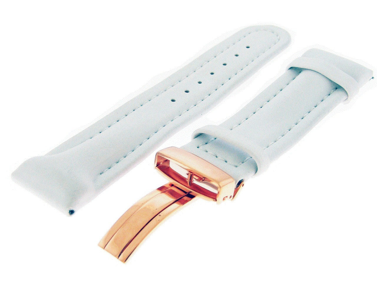 "Primary image for Jojo Polyurethane Watch Band 24mm ash color Rose Gold loop ""Big Clearance Sale"""