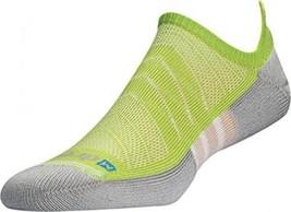 Drymax Max Cushion Running No Show Tab Socks,- 2 Pair Pack - Large, Lime... - $509,06 MXN