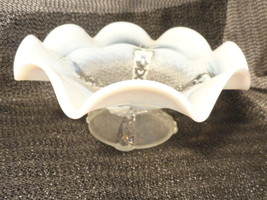 Opalescent Dome-Footed Bowl - $22.79