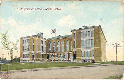 Primary image for State Normal School at Salem Mass Vintage Post Card