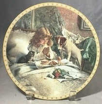"Vintage Royal Doulton plate ""Breakfast In Bed"" from A Victorian Childhood series - $9.85"
