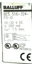 BALLUFF BES 516-324-F0-D PROXIMITY SENSOR BES 516-324-FO-D, 10-30VDC, 1.5mm image 2