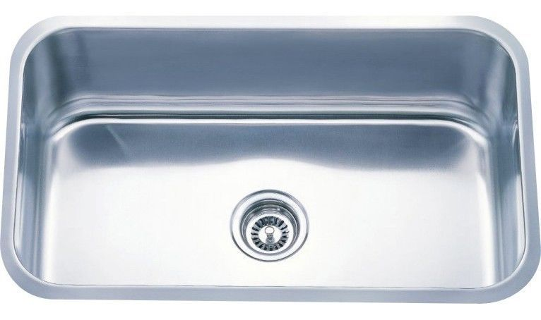 "Primary image for Undermount Kitchen Single Bowl Stainless Sink <18Gauge> 30"" x 18"""