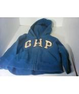 Baby Gap Boy Full Zip Logo Hoodie Sweatshirt Size 3 Years - $7.99