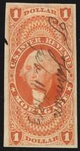 R73a, $1 Mortgage Revenue Stamp Superb Four Margin GEM - Stuart Katz - $35.00