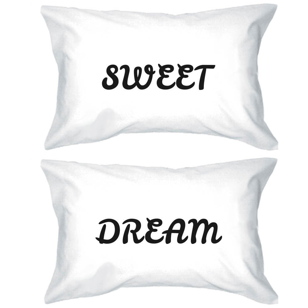 Primary image for Sweet Dream Pillowcases - Bold Statement Matching Pillow Covers