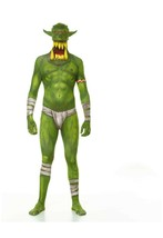 Halloween costume  Morphsuits Men's Jaw Dropper Costume, Orc Green, X-Large - $108.89