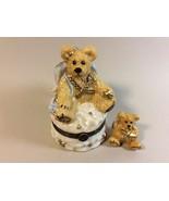 Boyds Collection Le Bearmoge 392005 Clarence Angel Bear  Figure Trinket Box - $23.76