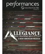 ALLEGIANCE musical PREMIERE souvenir playbill San Diego George Takei Lea... - $9.00