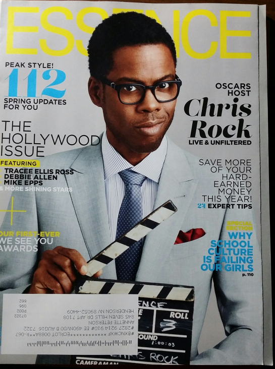 Primary image for CHRIS ROCK / The Holloywood Issue in ESSENCE Las Vegas Magazine Mar 2016