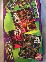 Puzzle 3 pack (TMNT Teenage Mutant Ninja Turtles), Brand New & Sealed - $12.99